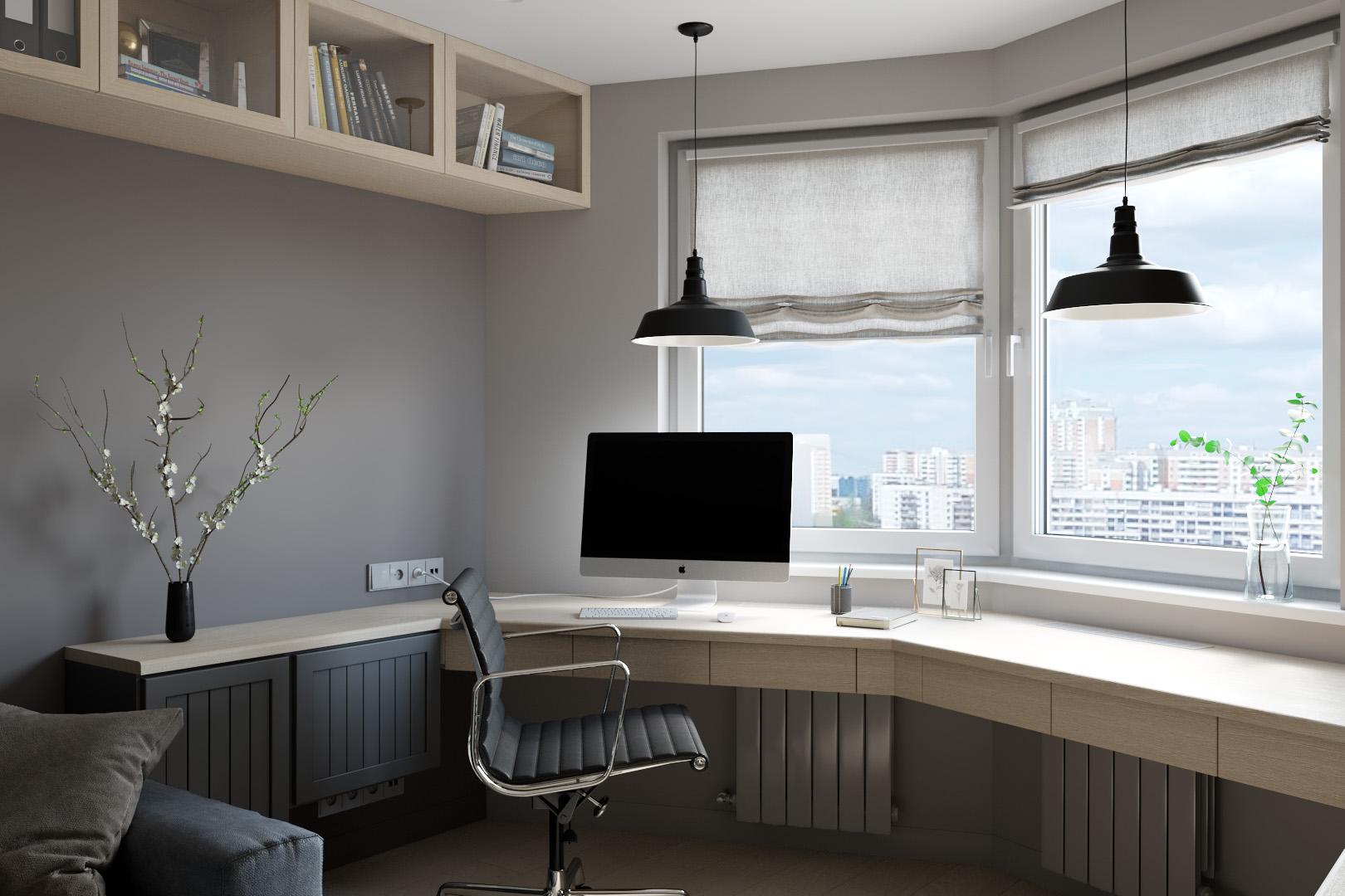 Комната, рабочий стол