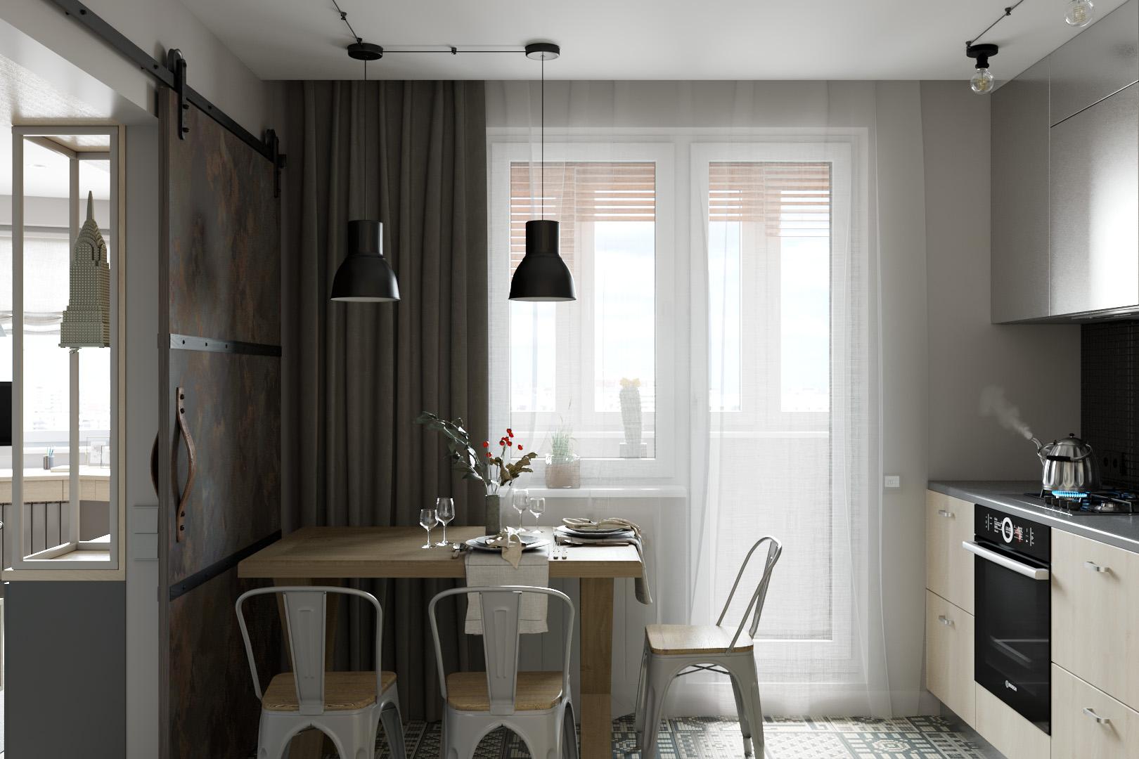 Обеденный стол кухни
